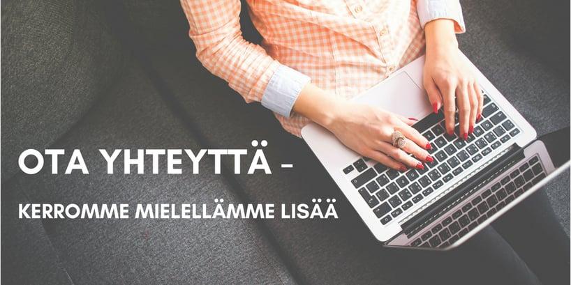 OTA YHTEYTTÄ Työpaikka JotBar Solutions Oy:lla