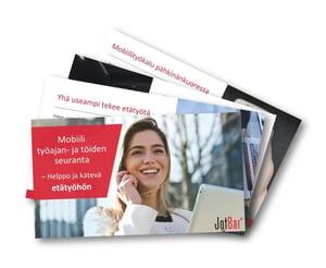 Mobiili työajan- ja töiden seuranta -opas